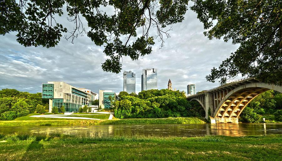 Fort Worth Skyline 1 by Ricardo J Ruiz de Porras