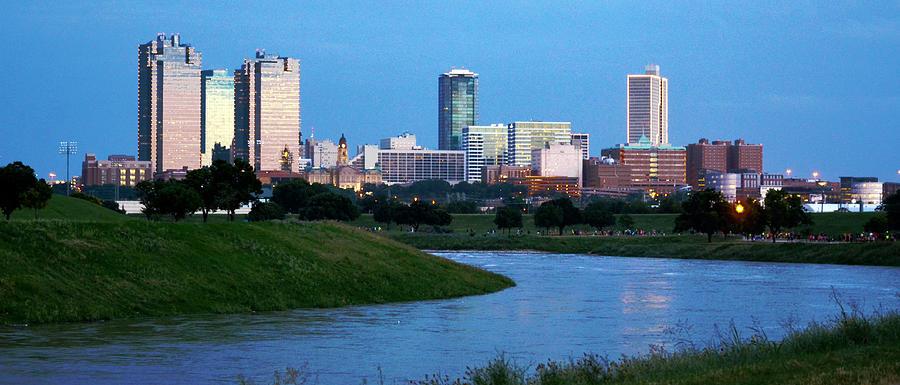 Fort Worth Skyline 2 by Ricardo J Ruiz de Porras