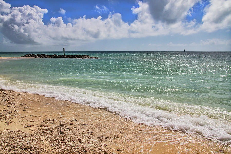 Fort Zachary Taylor Historic State Park Beach in Key West by Bob Slitzan