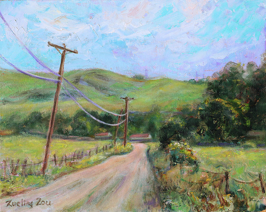 Fortini Trailhead San Vicente San Jose California Landscape 13 by Xueling Zou