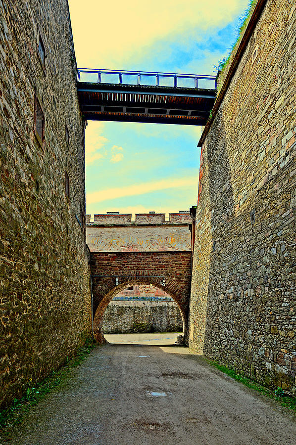 Moselle Photograph - Fortress Ehrenbreitstein. Koblenz. Germany.  by Andy Za