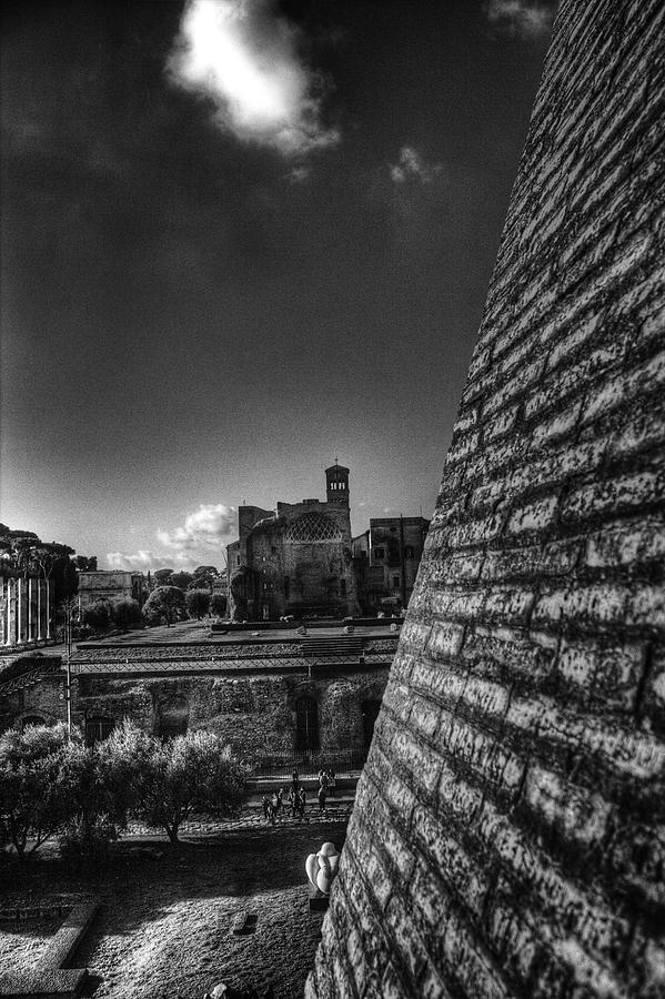 Rome Photograph - Forum View by Brian Thomson