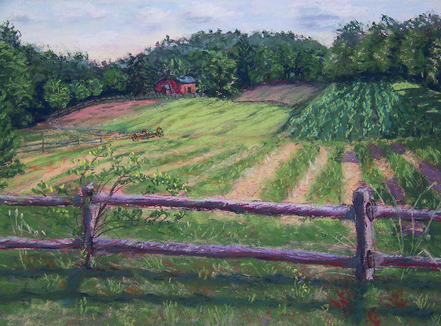 Morristown Painting - Fosterfields Farm by Laurie Paci