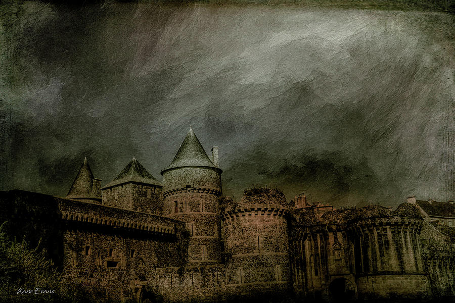 Fougeres castle by Karo Evans