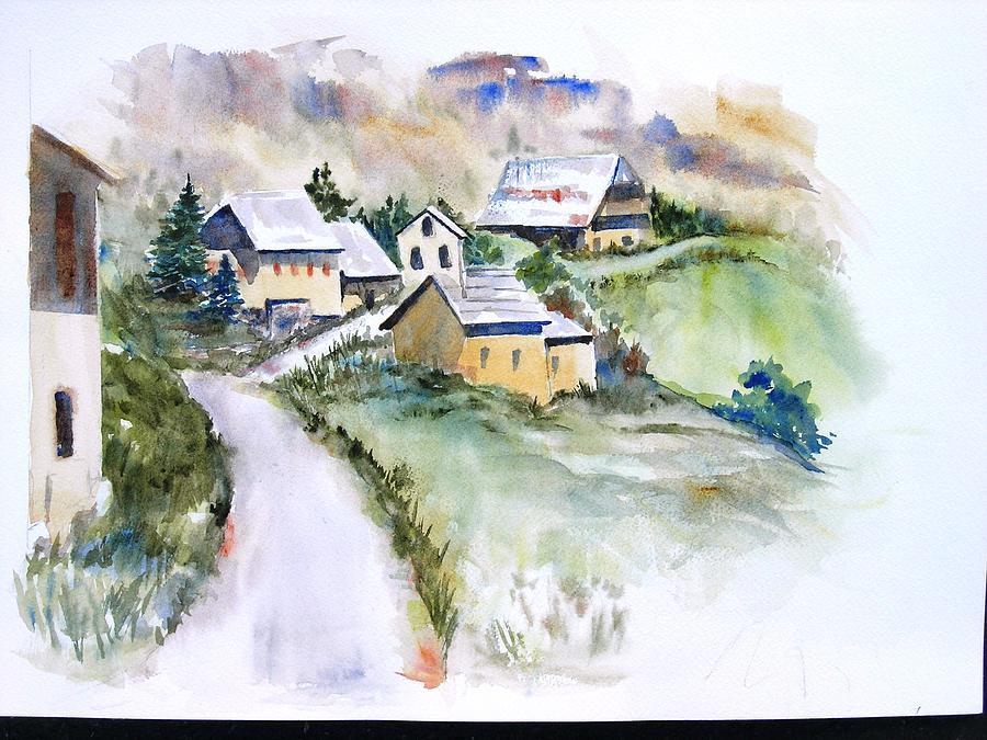 Fouillouse Painting by Magali Lenarczak