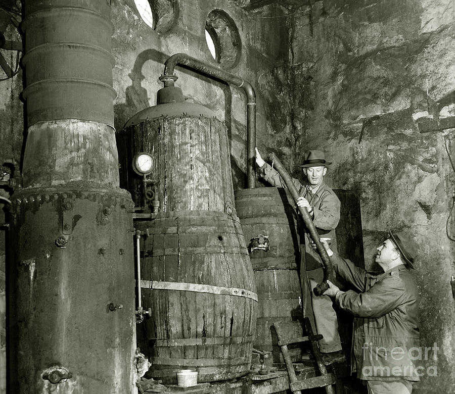 Prohibition Photograph - Dismantling The Still by Jon Neidert