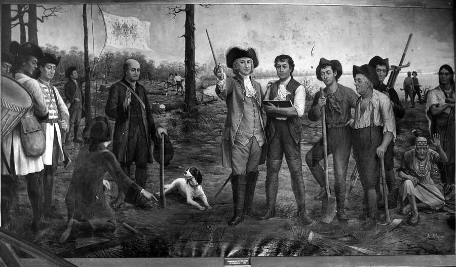 New Orleans Photograph - Founding Of New Orleans by Crescent City Collective