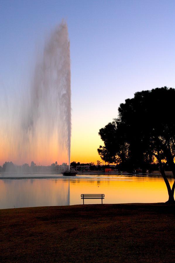 Fountain Hills Photograph - Fountain Hills by Paul Kloschinsky