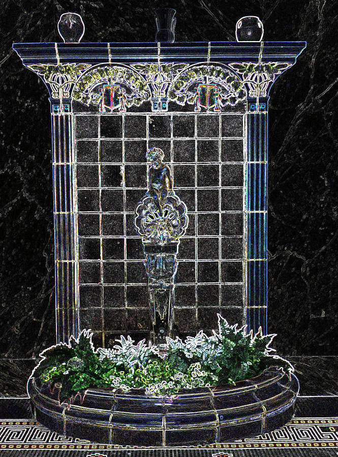Fountain Photograph - Fountain Of Youth by Joy Montgomery