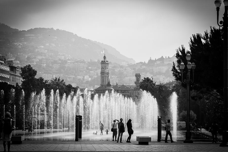 Europe Photograph - Fountain Play by Jason Smith