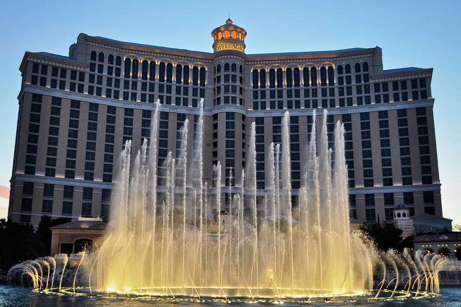 Fountains Of Bellagio Las Vegas Photograph By Kyle Hanson