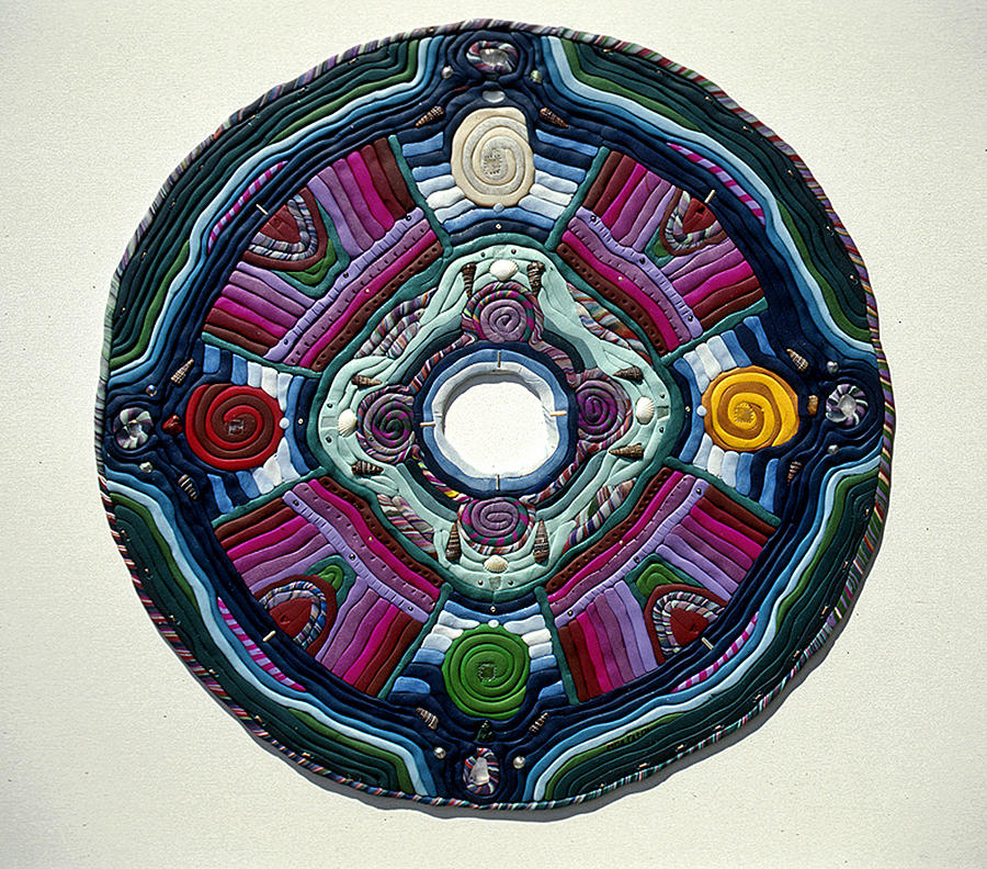 Mandala Relief - Four Directions by Arla Patch