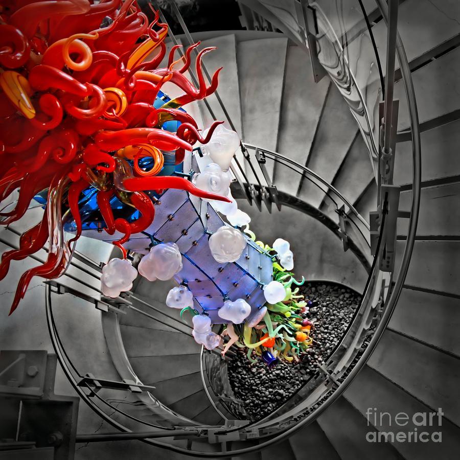 Four Elements Squared Digital Art