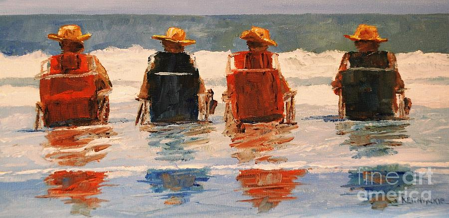Four Hats by Keith Wilkie