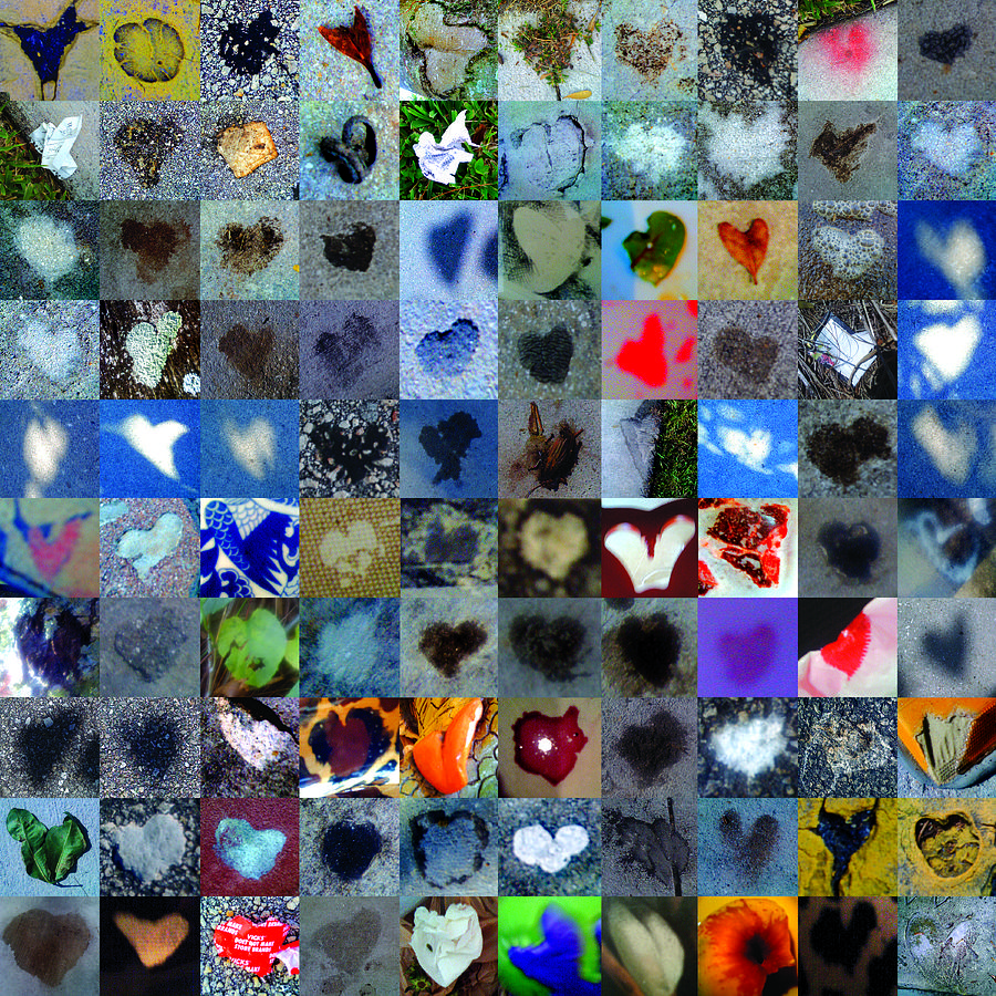 Abstract Hearts Photograph - Four Hundred Series  by Boy Sees Hearts