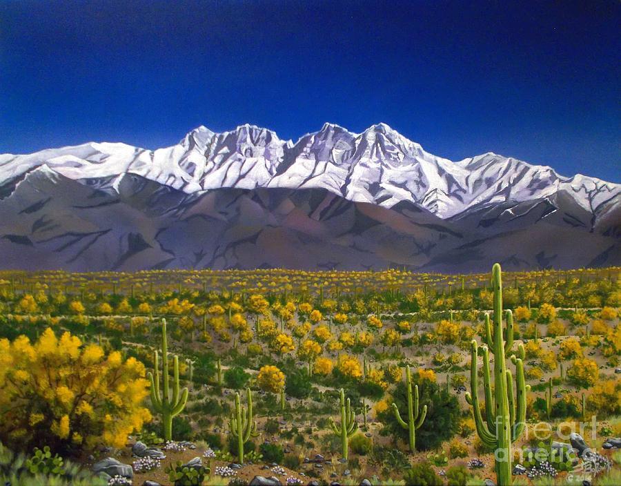 Four Peaks by Jerry Bokowski