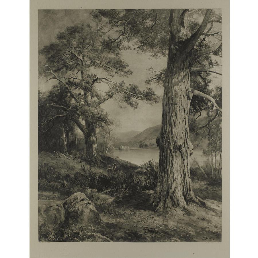 Four Scottish Landscapes Painting