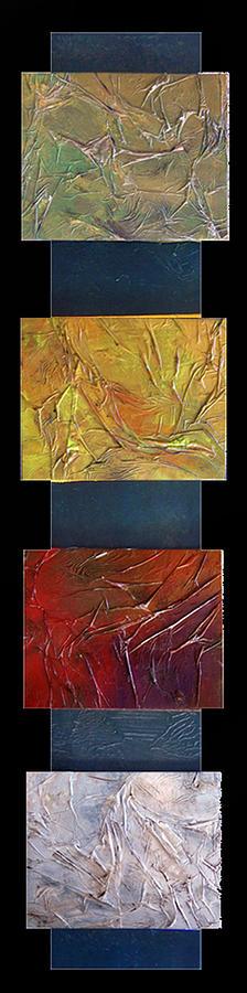 Seasons Painting - Four Seasons by Joel Beckenhauer