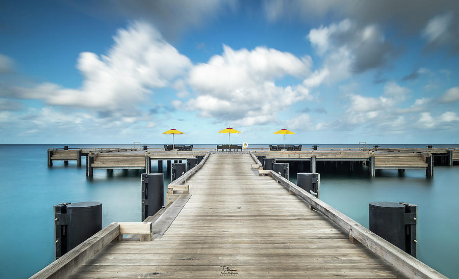 Resort Photograph - Four Seasons Pier by Paemon Moghaddas