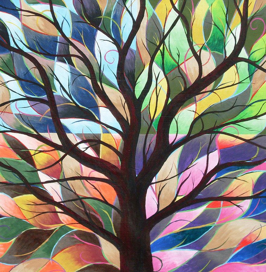 Four Seasons Painting By Sally Van Driest