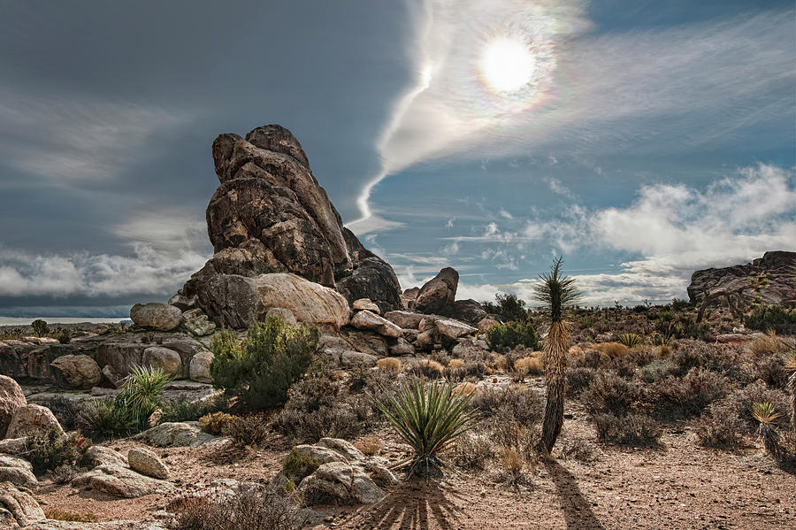 Landscape Photograph - Four Way Clouds by Gary Zuercher