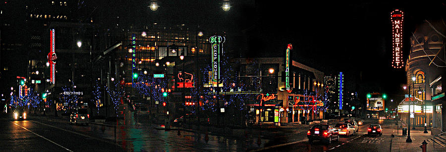 City Scape Photograph - Fourteenth and Main by Steve Karol