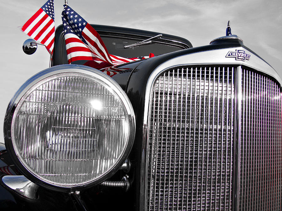 Chevrolet Photograph - Fourth Of July-chevvy  by Douglas Barnard