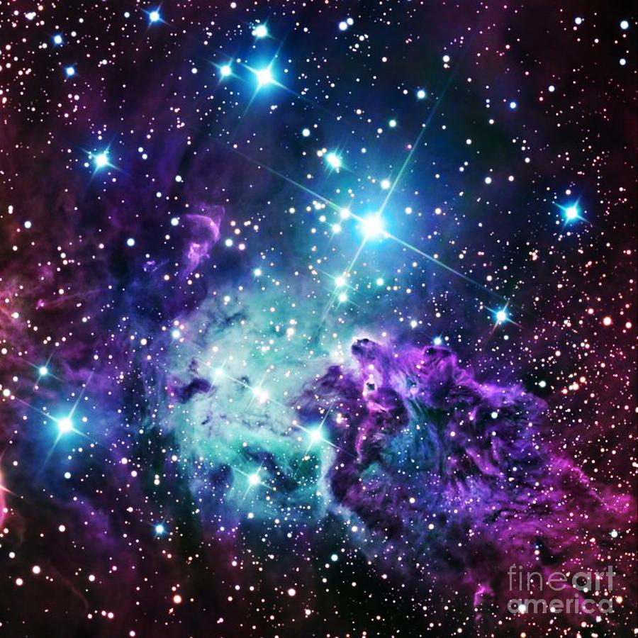 Galaxy Artwork Fox Fur Nebula Purple ...