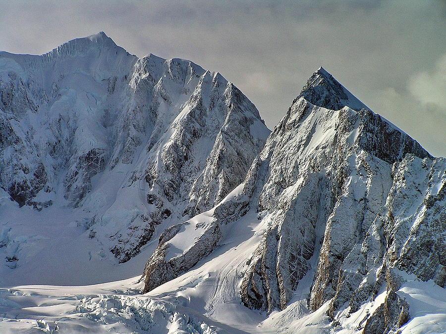 Fox Glacier Photograph - Fox Glacier View by Phil Stone