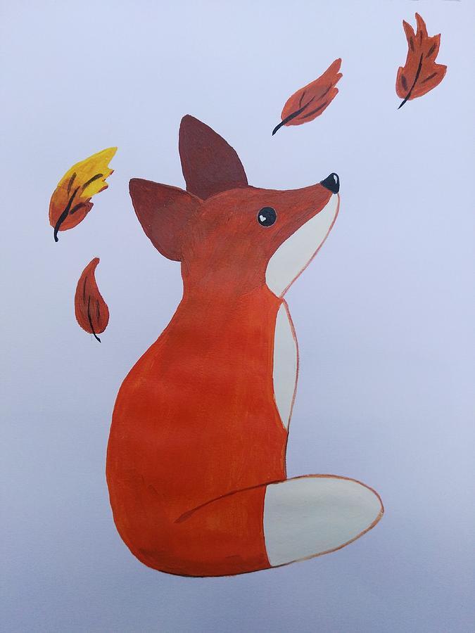 Fox Drawing - Fox by Mahmoud Selim