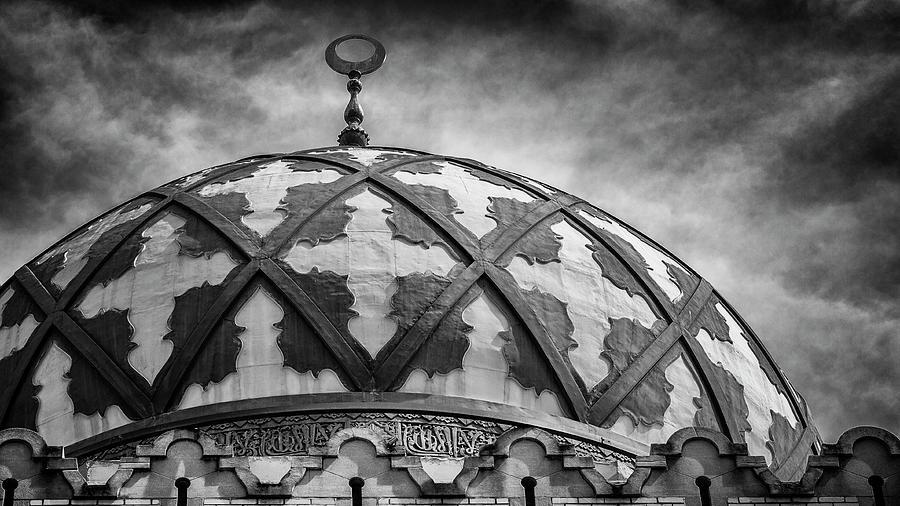 Fox Theatre Photograph - Fox Theatre Dome - Atlanta by Stephen Stookey