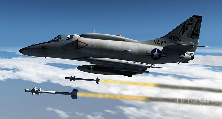 Aviation Digital Art - Fox Two by Richard Rizzo
