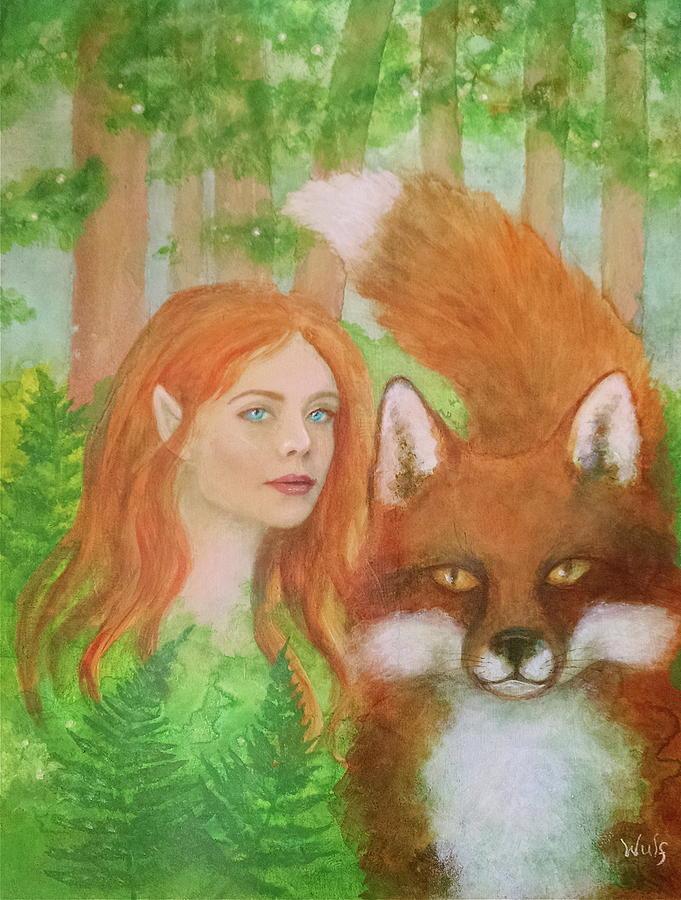 Foxy Faery by Bernadette Wulf