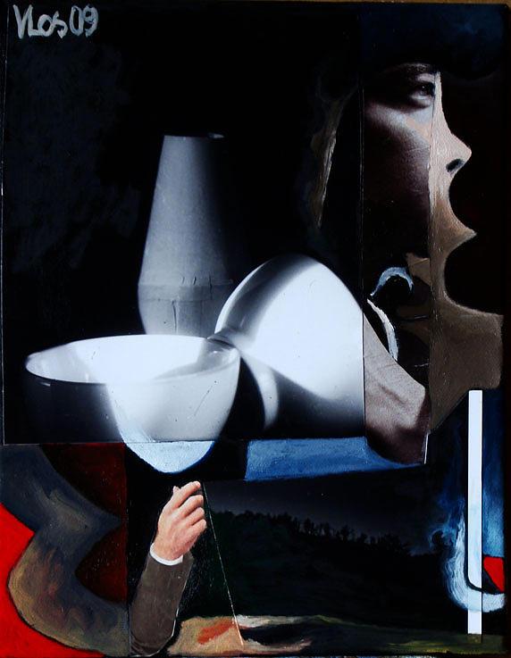Fp18  Il Marinaio Painting by Vittorio Losito