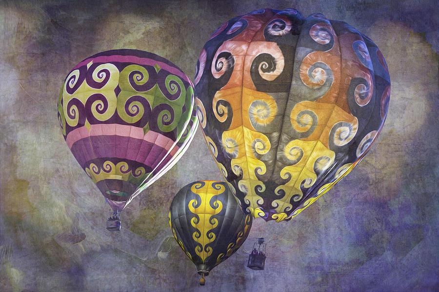 Fractal Trio by Melinda Ledsome