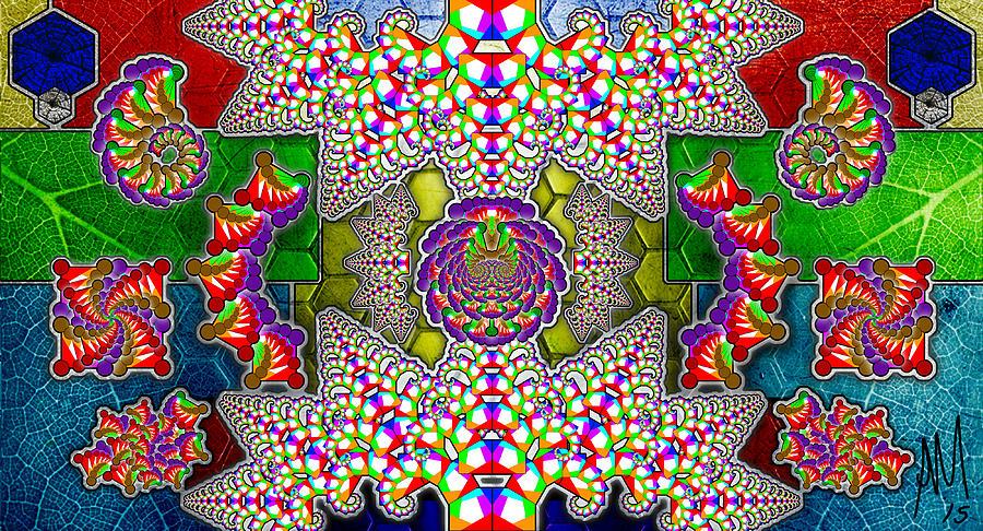 Photoshop Digital Art - Fractaleaf by Andrew Murray