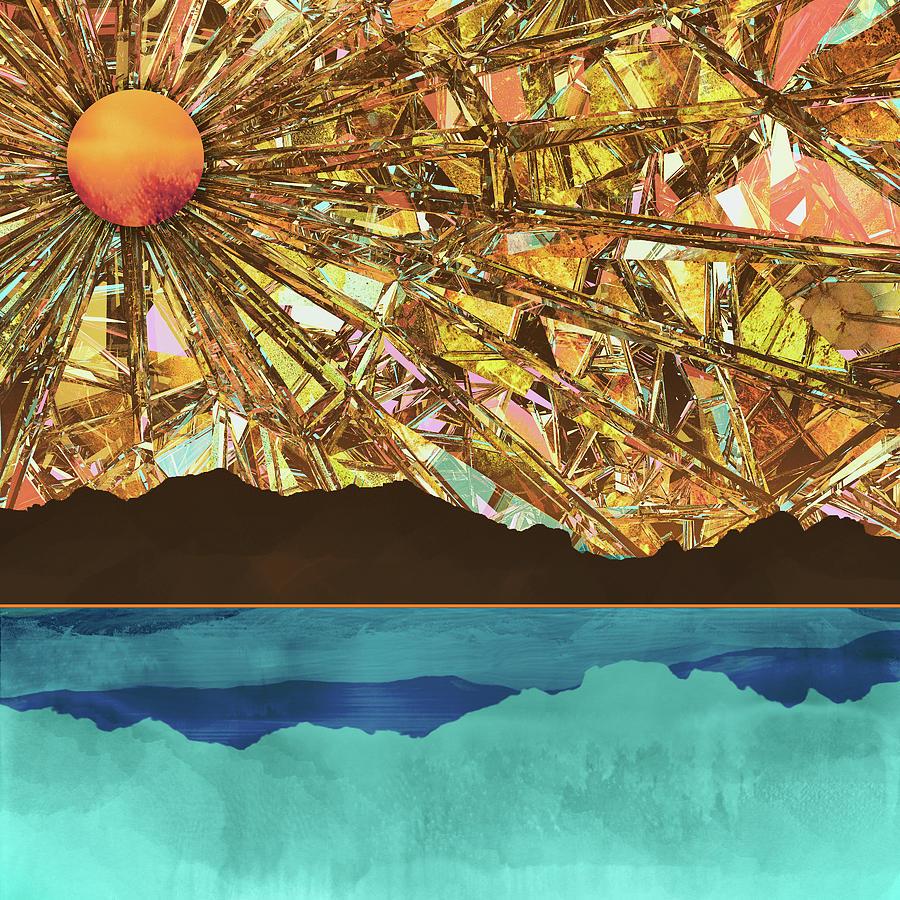 Sky Digital Art - Fractured Sky by Katherine Smit