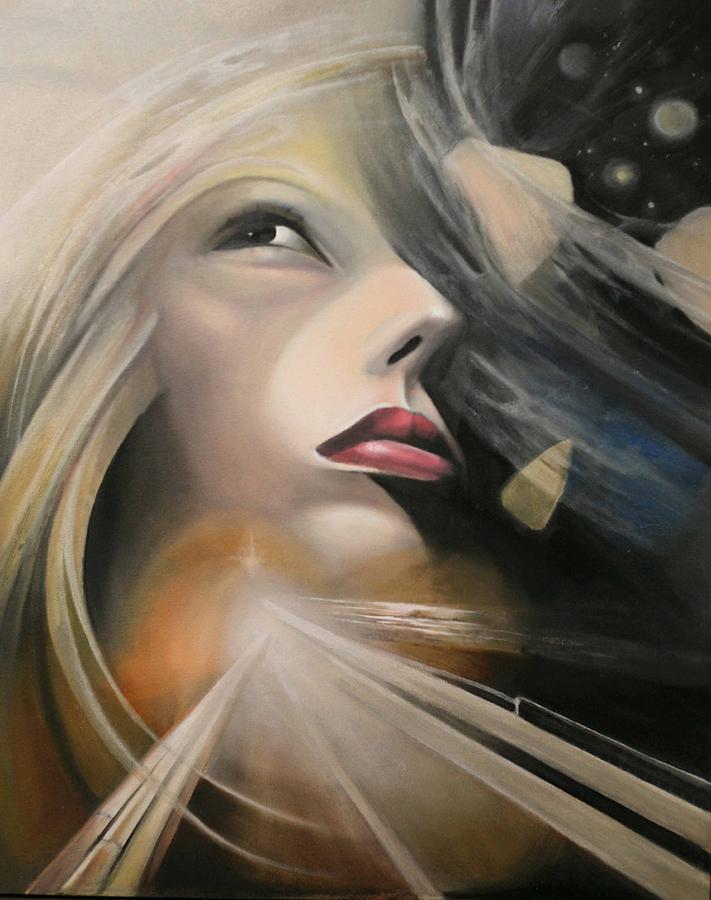 Surrealism Painting - Fragile Beliefs by Marina Alekseeva