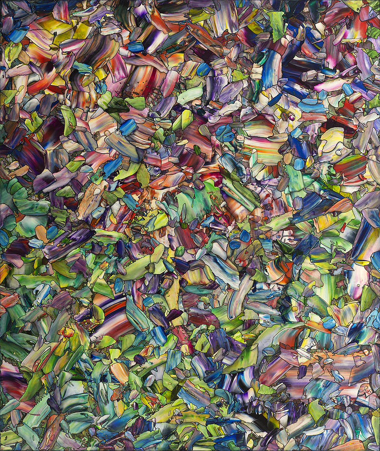 Spring Painting - Fragmented Spring by James W Johnson