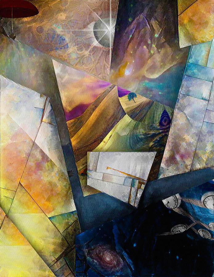 Fragments Of Consciousness Digital Art