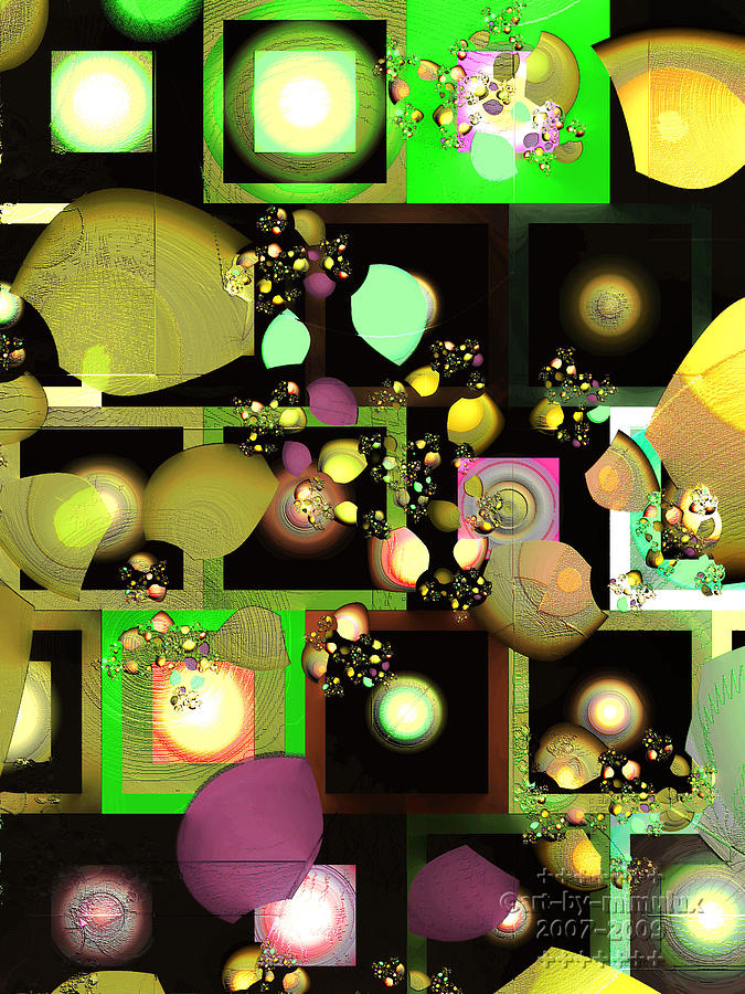 Fragments Digital Art - Fragments Of Thought by Mimulux patricia No