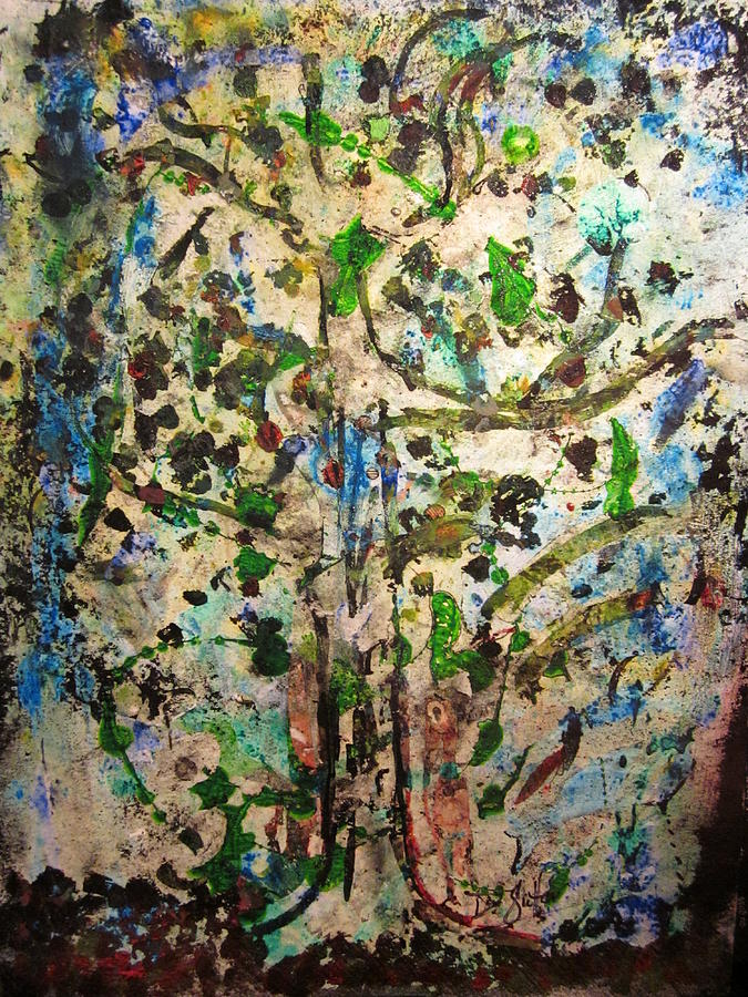 Tree Mixed Media - Fragrance Of Color by David Sutter