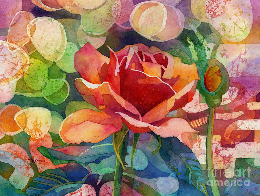 Fragrant Roses Painting