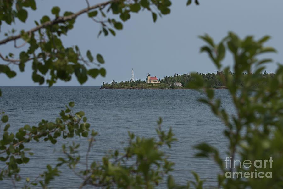 Framed Lighthouse Photograph