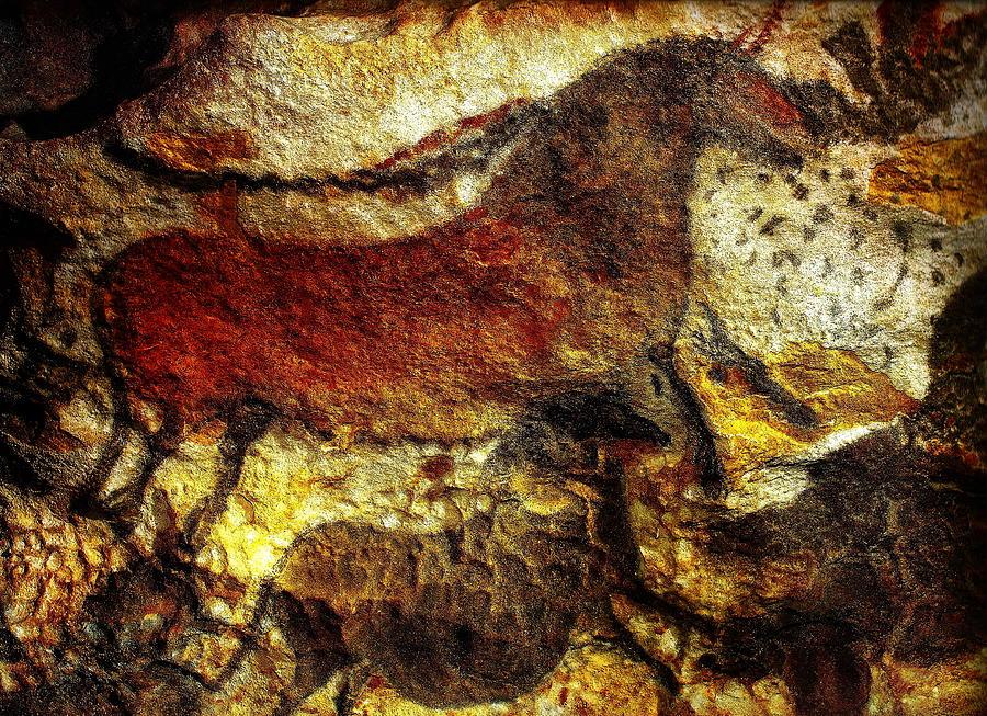 France - Lascaux Cave Paintings by Jacqueline M Lewis
