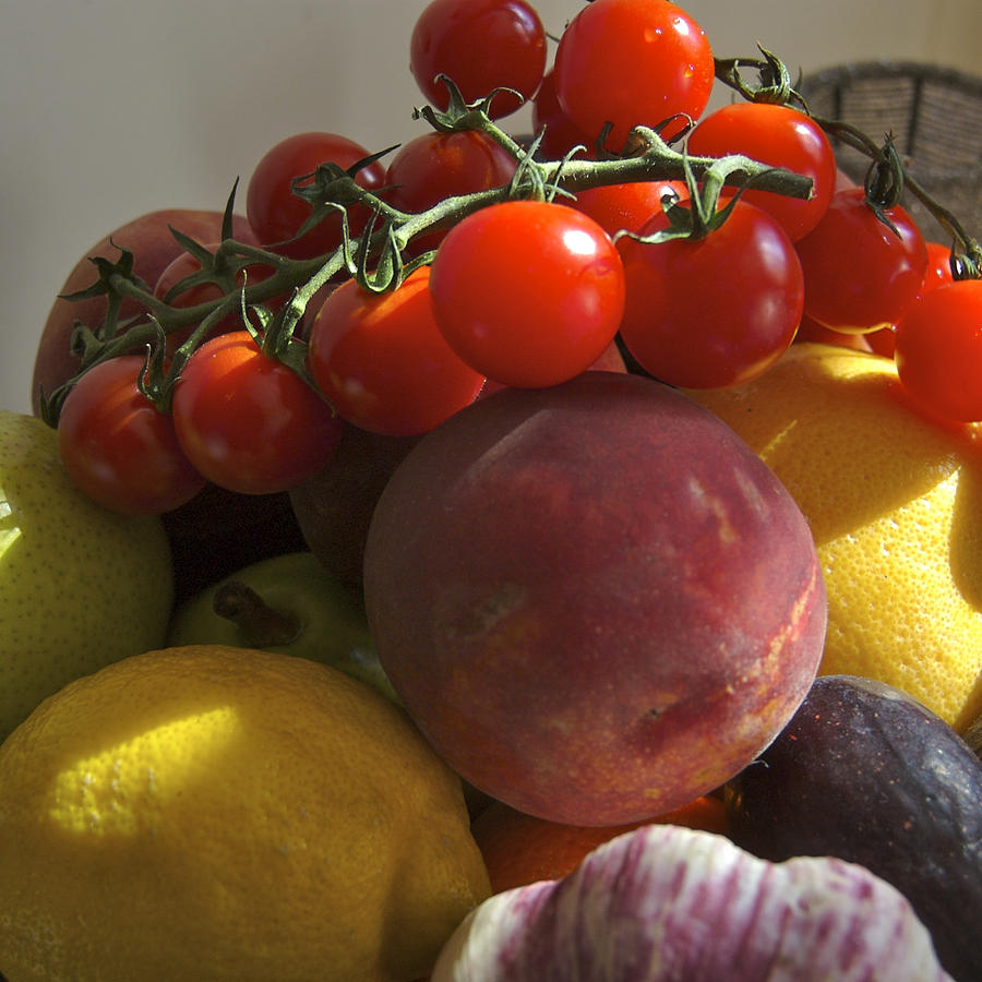 Close-up Photograph - France, Paris Fruits And Vegetables by Keenpress