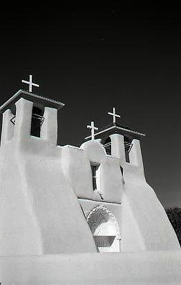 Landscape Photograph - Francisco de Asis  Taos NM by Ernie Ferguson