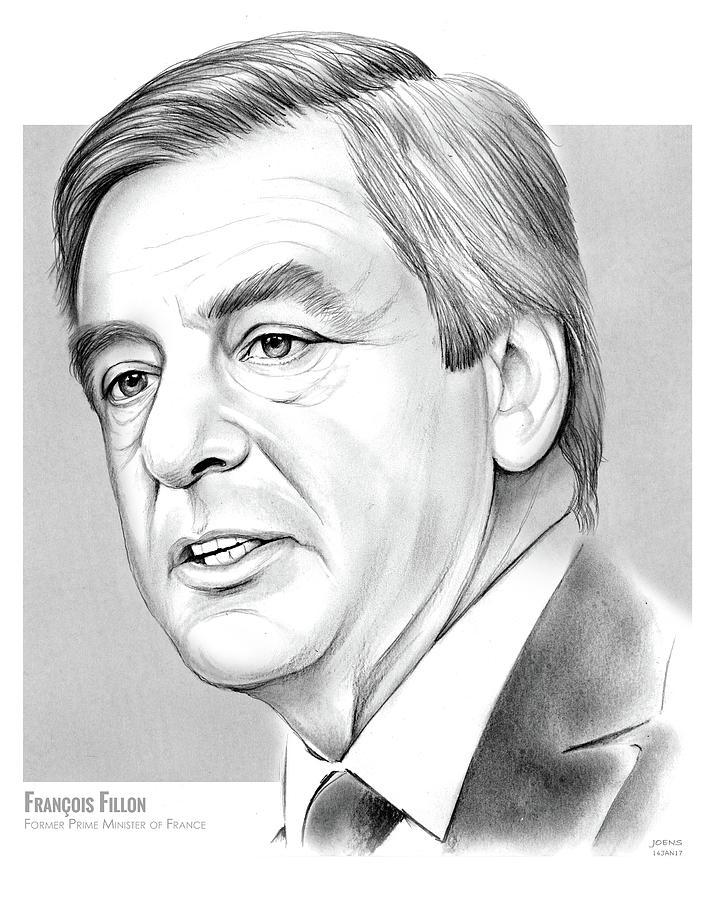 Francois Fillon Drawing