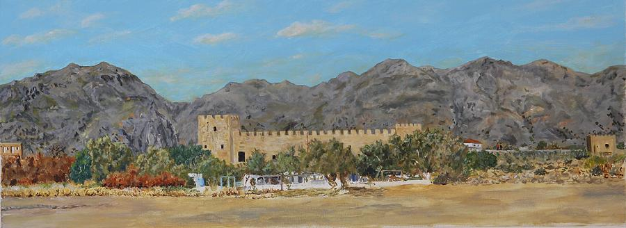Frangokastello castle - Southern Crete by David Capon
