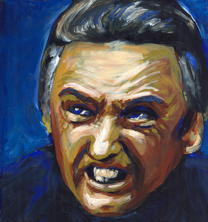 Dennis Hopper Painting - Frank Booth by Buffalo Bonker